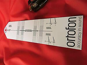 ORTOFON-SPU-DOPPIO-ZERO-POINT-allineamento-Goniometro-Nuovo-di-zecca-inutilizzati