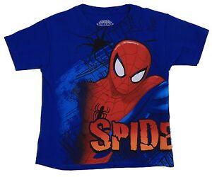 NEW MARVEL COMICS THE AMAZING SPIDERMAN KID KIDS SIZE 5//6 SHIRT