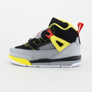c29b67d5f69b AIR JORDAN SPIZIKE TODDLER 317701-050 OG BOYS GIRLS BLACK YELLOW ...