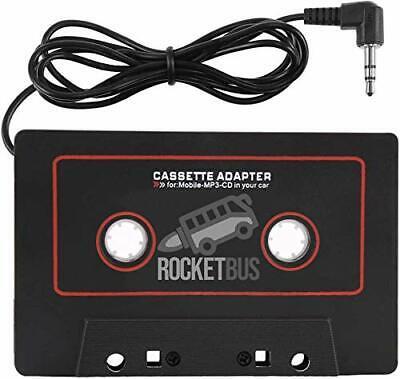Original GE Cassette Adapter for iPod Cellphones MP3 CD Player
