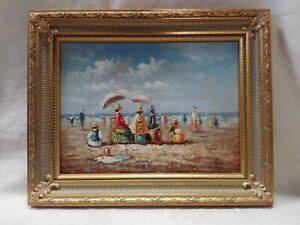 Dipinto-olio-su-tavola-firmato-Miller-cm-30x40-Antikidea