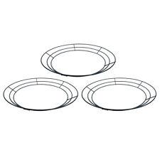 Royalty Essentials 10 Inch Metal Wire Wreath Wire Frame Form Hanger Green 10 Inc