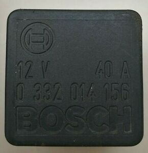 Audi-Seat-Skoda-VW-Bosch-Black-Relay-12V-40A-4-Pin-0332014156-431951253H-OEM