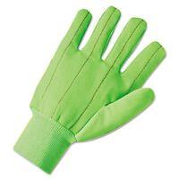 Anchor Brand 1000 Series Canvas Gloves, Green - Anr1060g