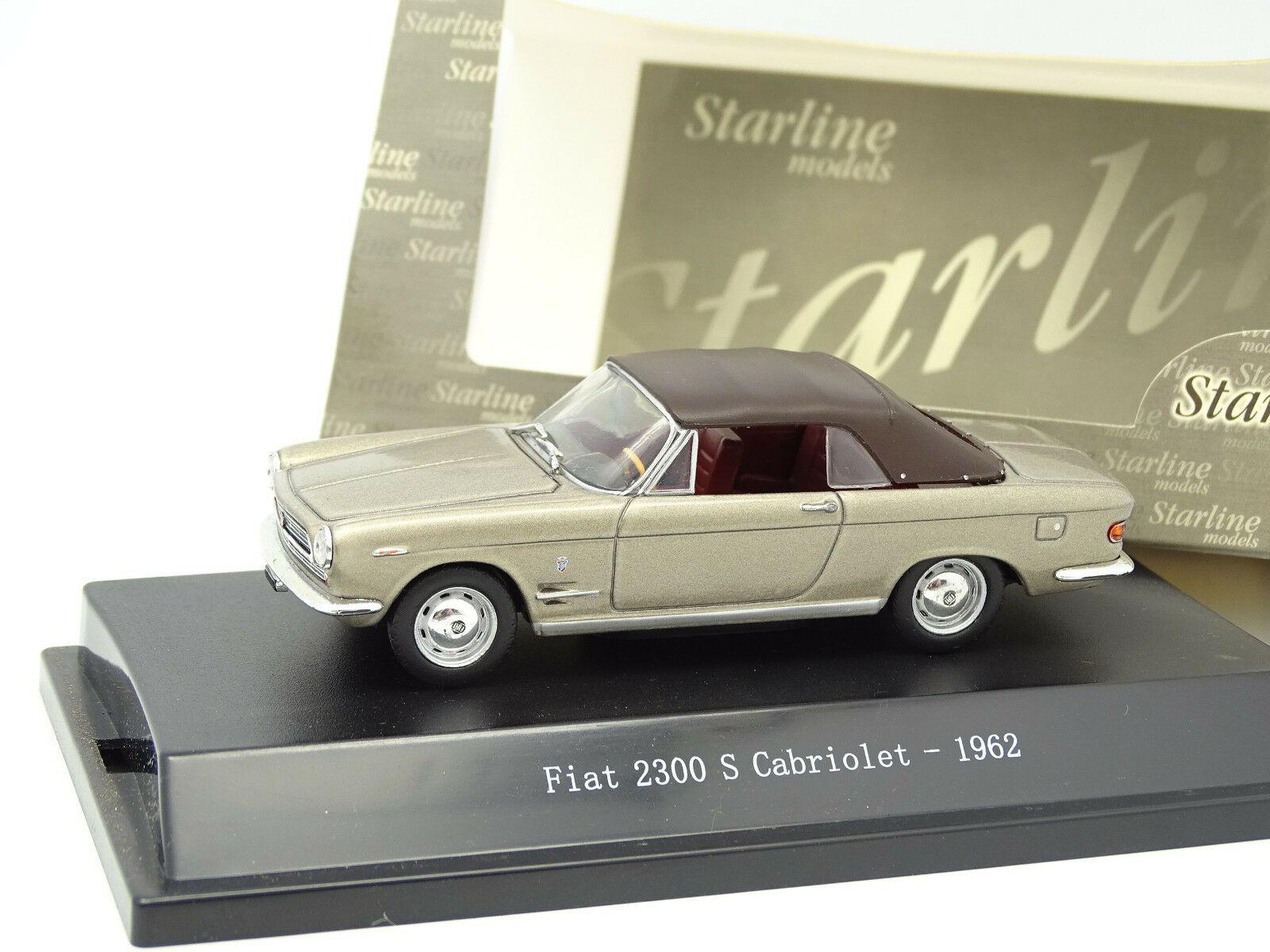 Starline 1 43 43 43 - Fiat 2300 S Cabriolet Closed 1962 795e56