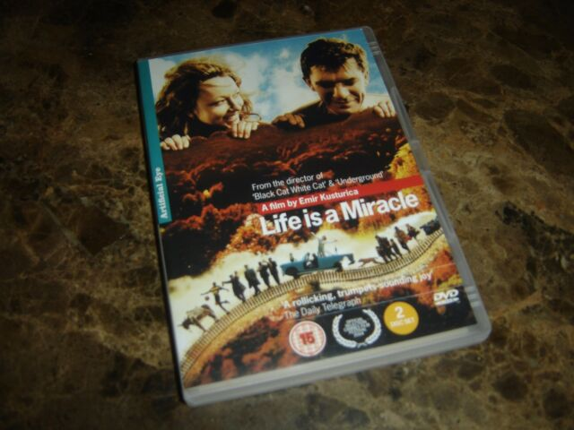 Život je cudo (Life is a Miracle) International release (DVD x 2 2004)