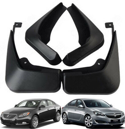 Set Splash Guards Mud Flaps For 09 2017 Buick Regal Opel Vauxhall