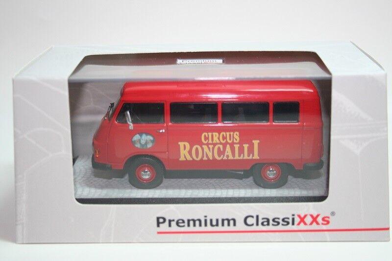 descuento online Premium Classixxs 1 43 Mercedes L206 Bus, Circus Circus Circus Roncalli  Disfruta de un 50% de descuento.