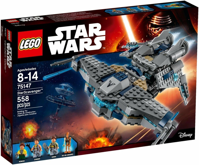 Lego  Star Wars™ 75147 Starscavenger™ Neuf Emballage D'Origine Misb  100% livraison gratuite