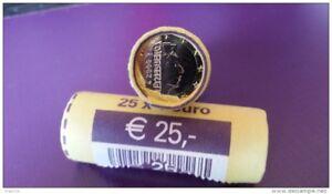 2008-LUXEMBOURG-ROULEAU-1-EURO-HENRI-25-PIECES-DE-MONNAIE-UNC