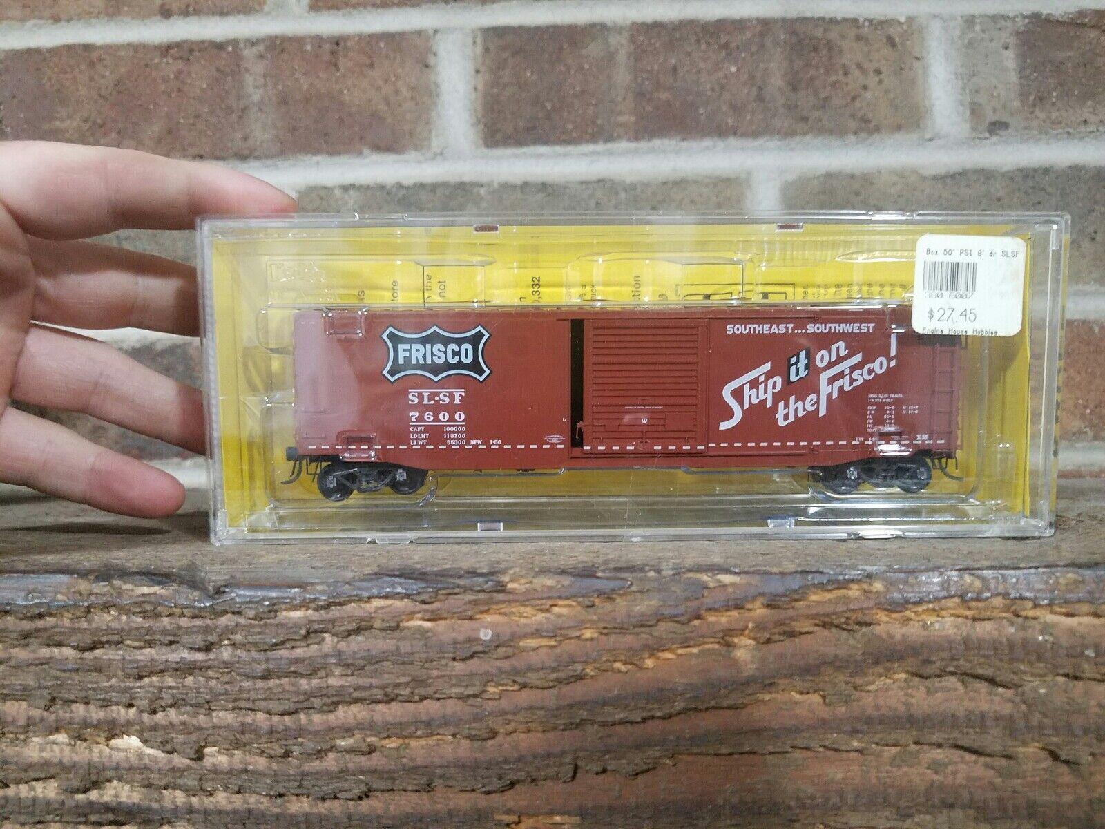 HO Scale Kadee 6007 SLSF Frisco Ship It On 50' Box Car  8600 Model Train
