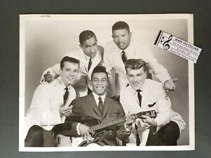 Original-1950s-60s-8-x-10-Publicity-Photo-Vocal-Group-Doo-Wop-R-amp-R-The-Marcels