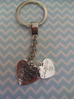 Always in my heart/In loving memory key ring baby loss, all family names,mum,dad