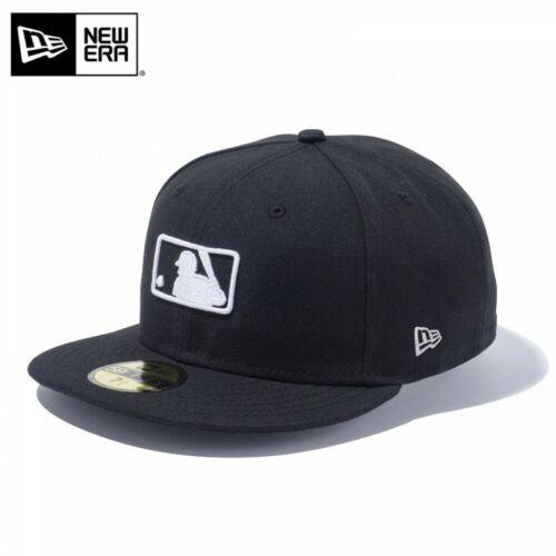 NEW ERA 59FIFTY Cap Hat Fitted MLB Logo Umpire Cap Design Motif Black F//S