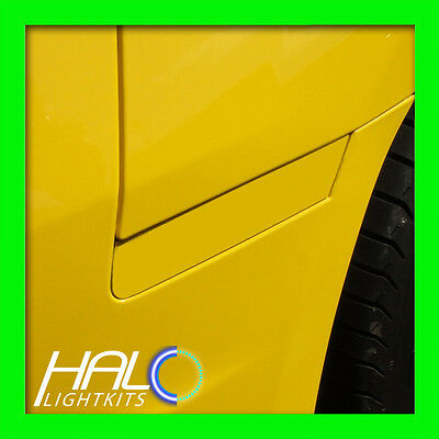 2010-2014 ORACLE CHEVY CAMARO CONCEPT RALLY YELLOW GHOSTED LED SIDE MARKERS 4PC