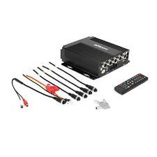 Mini 4CH 12V Realtime SD Car Mobile DVR Video/Audio In Remote Controller N6R2
