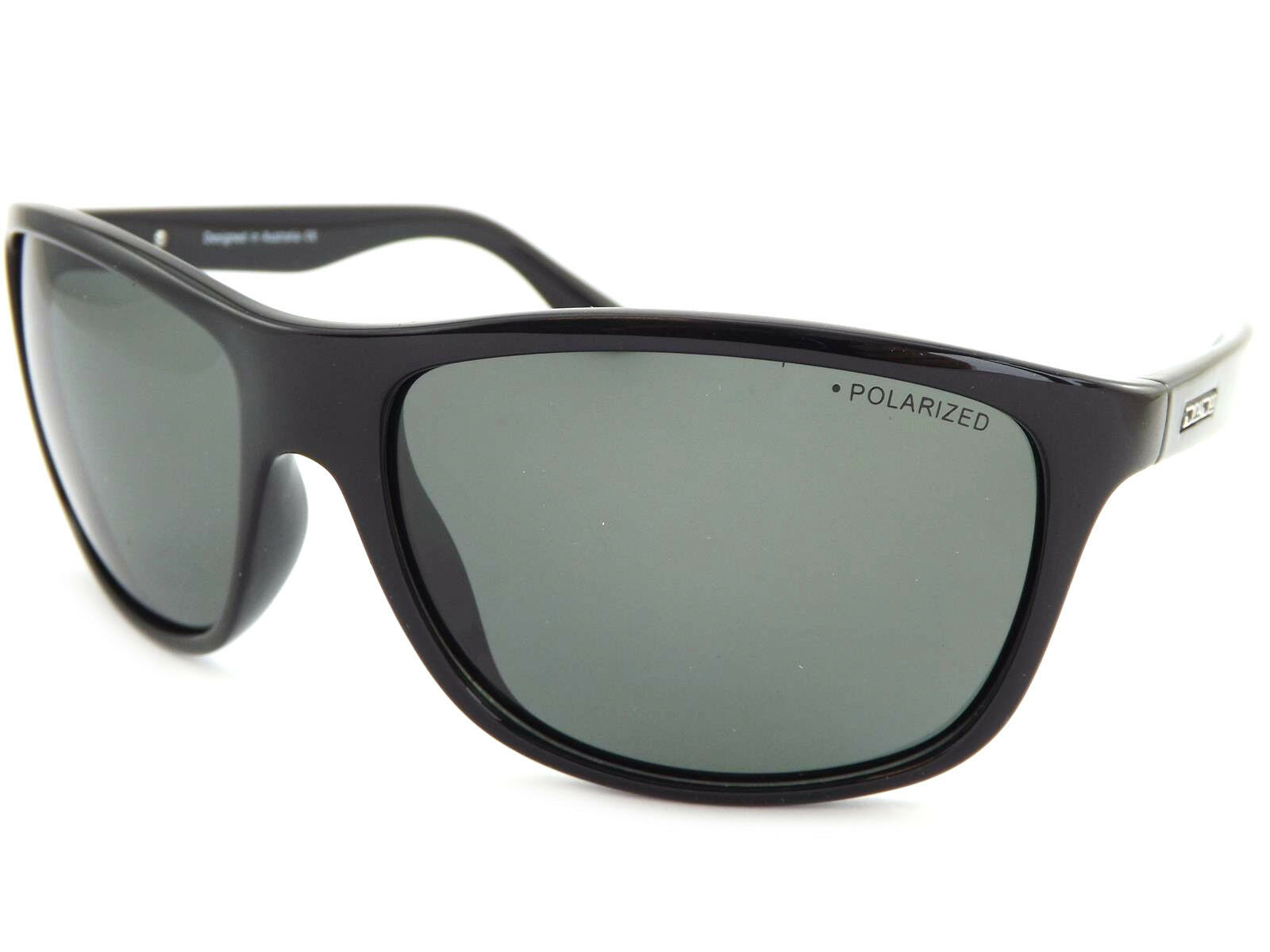 Dirty Dog Polarisiert Quench Enganliegende Sonnenbrillen Scheinend Schwarz Grün | Viele Stile