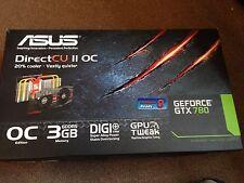 ASUS Grafikkarte 780 GTX Direct CU II OC 3GB RAM