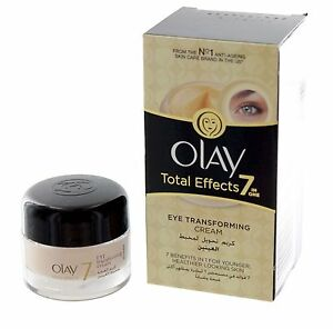 Olay Total Effects Anti Aging 7 in 1 Eye Transforming Cream Treatment 0 5 oz