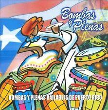 Bombas Y Plenas Bailables De Puerto Rico  Audio CD