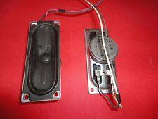 SHARP SPEAKER SET 1104PA038A 8 OHMS 4W PULLED FROM MODEL LC-15SH6U