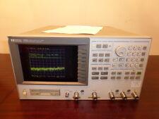 Agilent Hp 4396a 100 Khz 18 Ghz Rf Network Spectrum Impedance Analyzer