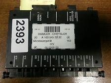 1998-2005 Mercedes ML  W163 under seat controller  ECU  A 1635452132 A1635452132