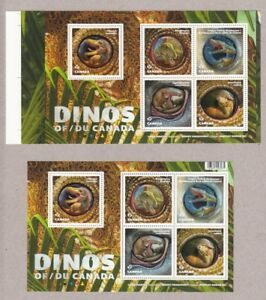 DINOS-OF-CANADA-2016-PAIR-of-SSs-REGULAR-and-ANY-Position-from-UNCUT-Sheet