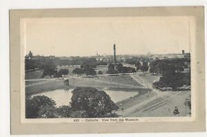 India-Calcutta-View-from-The-Museum-Postcard-B229