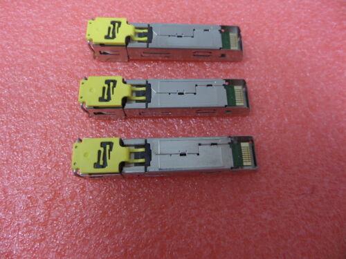 3 HP 453156-001 1GB RJ-45 SFP Module Virtual Connect 453578-001 ABCU-5712RZ-HP1