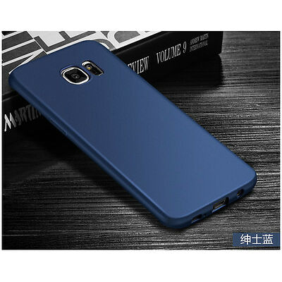 For Samsung Ultra Slim Soft Silicone Rubber Shockproof Case TPU Back Cover Skin