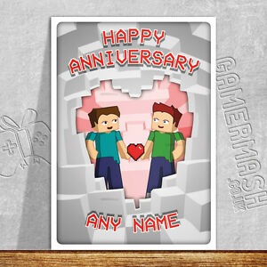 PERSONALISED-ANNIVERSARY-CARD-minecraft-themed-love-romantic-same-sex-gay-day