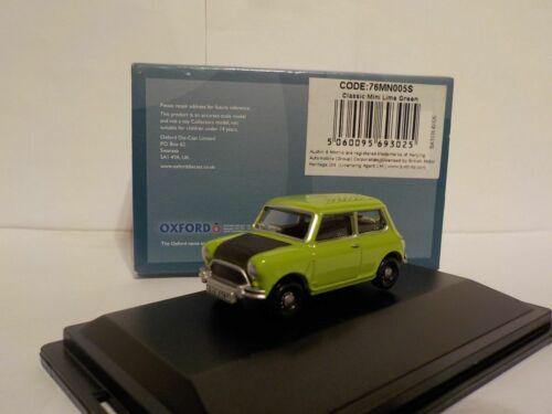 el Sr Bean style. Classic Mini Oxford Diecast 1//76 Nuevo Lanzamiento