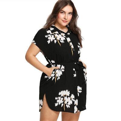 Vestidos Cortos Plus Size Elegantes Para Gorditas Mujer Tallas Grande De Fiesta Ebay
