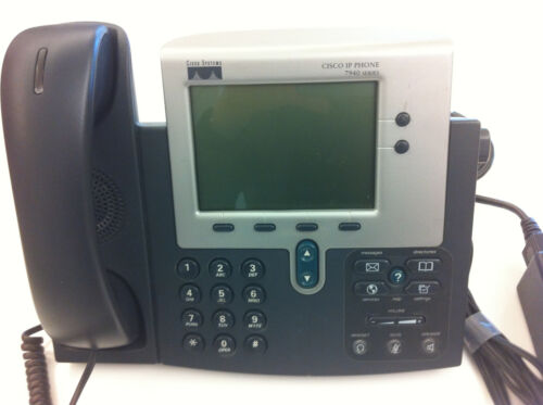Cisco CP-7940 VOIP Unified IP Phone