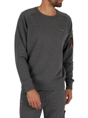 Alpha Industries Men/'s X-Fit Sweatshirt Grey