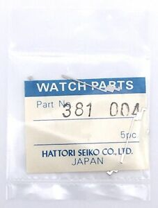 NOS-New-1-PC-Seiko-381-004-7005A-Piece-de-Rechange-Vintage-Original