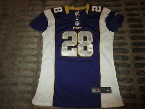 info for de991 dd540 Details about Adrian Peterson #28 Minnesota Vikings Nike NFL Jersey Womens  M medium