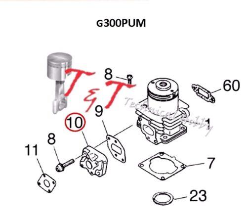 G300PUM G260PUM G290PUM Zenoah Insulator 1148-13162 for Zenoah G231PUM