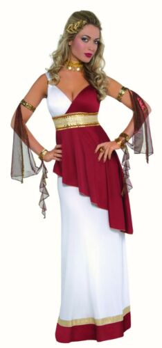 Imperial Empress Roman Greek Goddess fancy dress costume Ladies Toga outfit 8-16