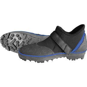 Mirage Rockgripper Sturdy Wetsuit Neoprene Boots Steel Spikes for Rock Fishing S