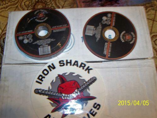 10 pc Iron Shark cut-off wheel
