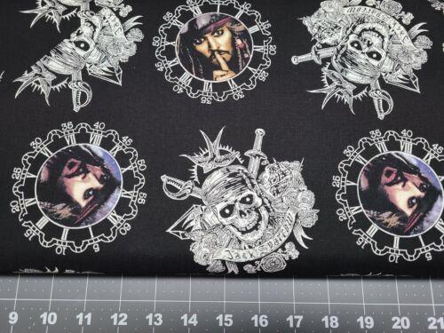 Captain Jack Sparrow Springs Creativ Fat Quarter 100/% Cotton FQ Fabric Quilting