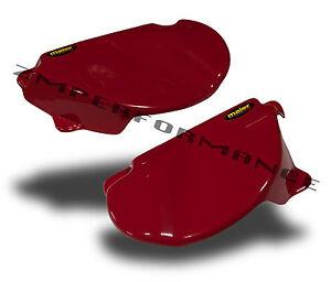 NEW HONDA XR 80 79-82 RED PLASTIC MOTORCYCLE SIDE PANELS