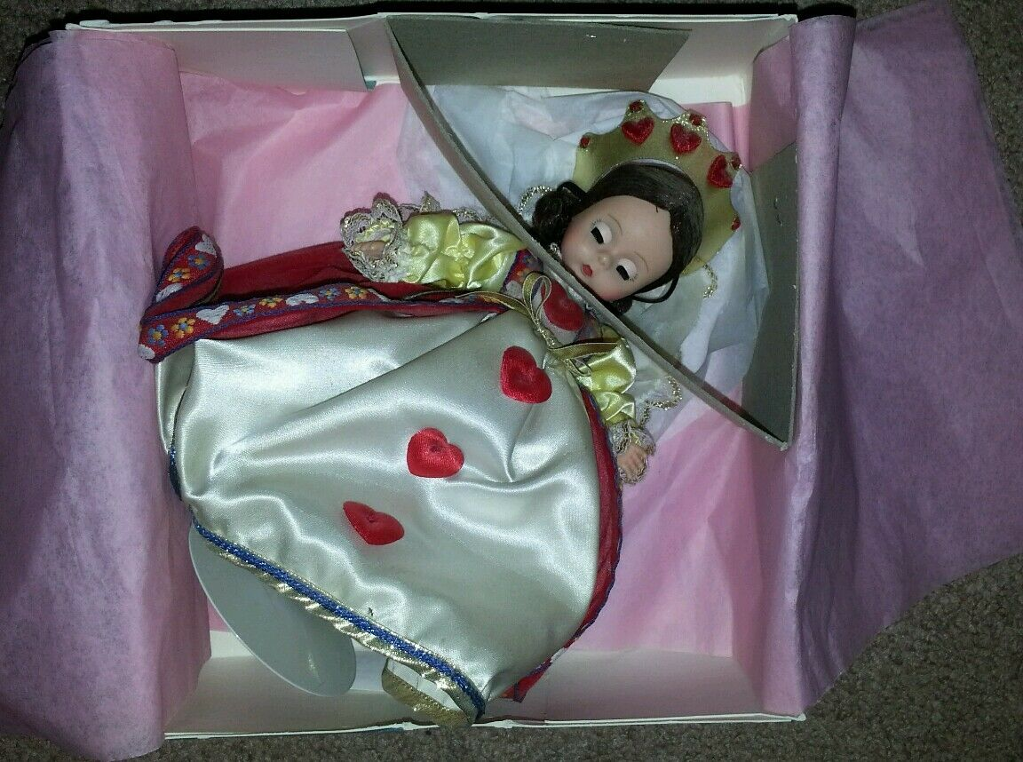 Mint in Box Madame Alexander Queen of Hearts Doll