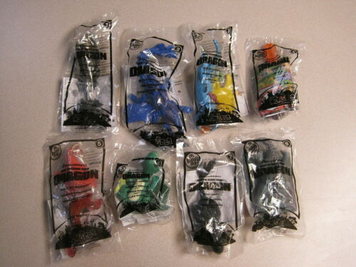 Complete Set McDonalds 2010 How to Train Your Dragon Mint in Package