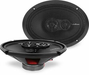 New-Rockford-Fosgate-R169X3-6x9-034-130W-RMS-PEAK-Car-Coaxial-Speakers-Audio-Stereo