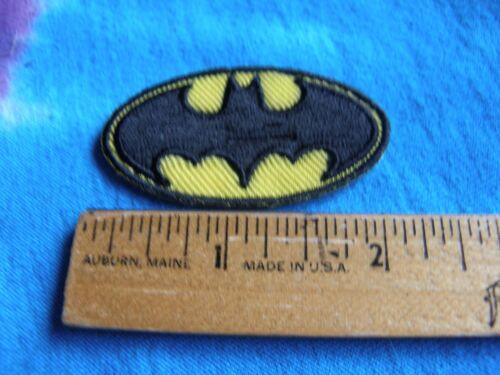 DC Comics Batman Logo MINI 2 Inch Iron On Patch