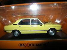 1:43 MaXichamps BMW 520 1974 yellow/gelb Nr. 940023001 OVP