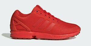 Homme Adidas Chaussure De Course Originals ZX Flux Rouge AQ3098 Prix De Vente Conseillé 74.95 Entièrement neuf dans sa boîte Var Tailles